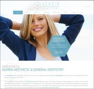 Gearin Dental Dentist Websites After